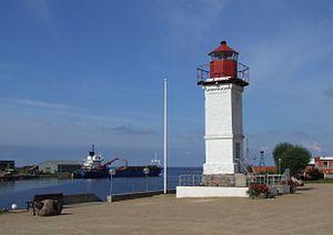 Salacgrīva - Image: Salacgrīva port 2