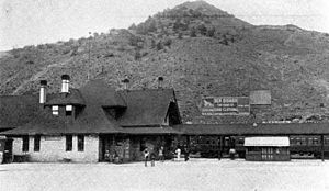 Salida, Colorado - Salida Depot, 1910