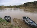 Salmon fishing boats on the River Tweed - geograph.org.uk - 284401.jpg