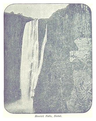 Howick Falls - A photo of Howick Falls (1896)