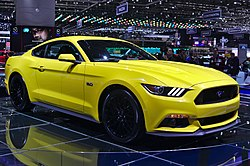 Ford Mustang Coupé (seit 2014)