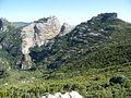 Salto de Roldán, las Peñas, vue du coté nord, 2009 (DSCF0041).JPG