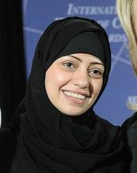 Samar Badawi at 2012 IWOC Award (cropped).jpg
