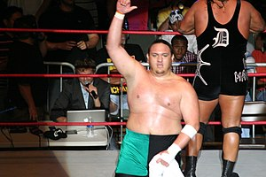 Samoa Joe - Samoa Joe in October 2010