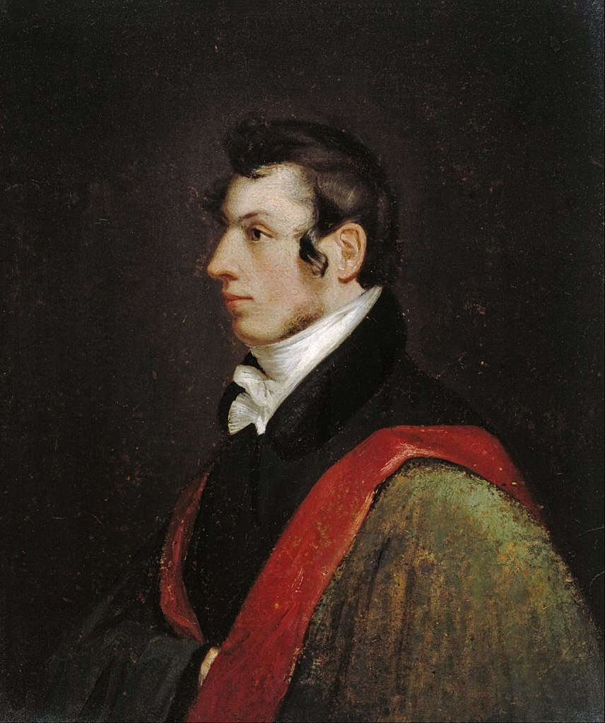 Self-portrait of Morse in 1812