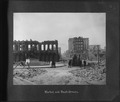 San Francisco Earthquake of 1906, Market and Bush Streets. (Mechanics Monument) - NARA - 524405.tif