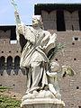 San Giovanni Nepomuceno - Castello sforzesco Milano - Foto Giovanni Dall'Orto - 25-7-2003 01.jpg