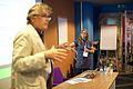 Sandra Fauconnier bij de Wikimedia Conferentie 2014 (15681494625).jpg