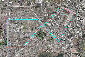 Santa Ana Army Air Base - Image: Santa Ana Army Air Base CA 2006 USGS