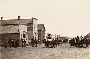 Ellsworth, Kansas - Ellsworth in 1867