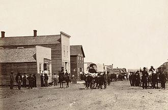 Ellsworth, Kansas - Ellsworth in 1867