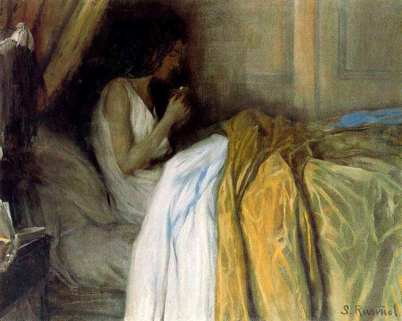 Santiago Rusinol Before the Morphine