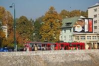Sarajevo Tram-506 Line-3 2011-10-31.jpg