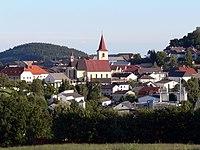 Sarleinsbach - Blick vom Kager auf Ortskern 2.jpg