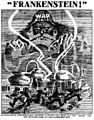 Satterfield cartoon on war as Frankenstein's Monster (1915).jpg