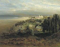 Alexei Kondratievich Savrasov: The Pechersky Monastery Near Nizhny Novgorod