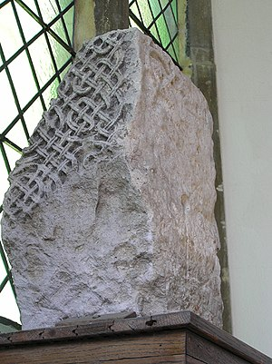 St Mary the Virgin, Gillingham, Dorset - Anglo Saxon stone