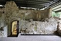Scavi di san vincenzo al volturno, resti della chiesa di san lorenzo in insula, IX secolo, 03 cripta di epifanio.jpg