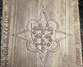 Scavi di santa reparata sotto il duomo di firenze, lastra tombale di simona vedova di ardingo de' ricci, 1363, 02.JPG