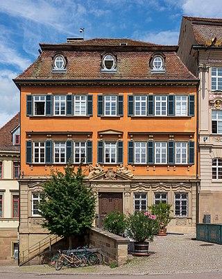 Schwäbisch Hall baroque town house