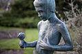 Sculpture Rosenjunge Ludwig Vierthaler Stadtpark Zoo Hannover Germany 02.jpg