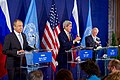 Secretary Kerry, Russian Foreign Minister Lavrov, and UN Special Envoy de Mistura Hold a News Conference After a Meeting of the International Syria Support Group in Vienna (26978247832).jpg