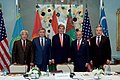 "Secretary Kerry Poses With ""C5+1"" Foreign Ministers in Hamburg (31344350962).jpg"