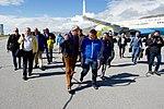 Secretary Kerry Walks With Greenlandic Premier Kim Kielsen after he arrived at Kangerlussuaq International Airport (27476875510).jpg