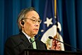 Secretary of Energy Chu in a Tokyo Press Conference (6882687136).jpg
