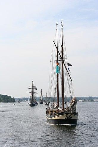 Hanse Sail - Zuiderzee at Hanse Sail 2009