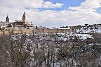 Segovia con nieve (39548992145).jpg