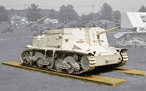 Semovente da 47/32 - Semovente da 47/32 on display at the United States Army Ordnance Museum, Aberdeen, Maryland