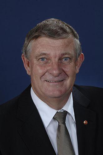 Chris Back - Image: Senator Dr Chris Back
