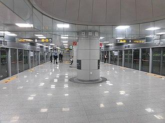 Seokchon Gobun station - Image: Seokchon Gobun Station 2