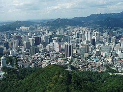 Skyline of Greater Seoul Aurie  수도권