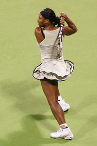 Serena Williams at the 2008 WTA Tour Championships2.jpg
