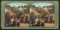 Serving out Army supplies to unending bread line of refugees at Ft. Mason, San Francisco disaster, from Robert N. Dennis collection of stereoscopic views.png