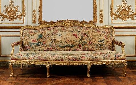 Canapé By Jean Baptiste Oudry (1754 56) Metropolitan Museum