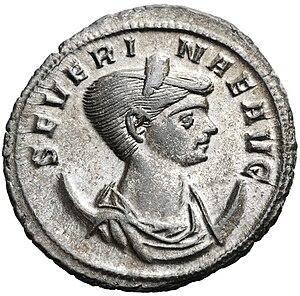 Ulpia Severina - Antoninianus of Severina