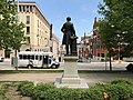 Severn Teackle Wallis Statue (1906, Laurent-Honoré Marqueste sculptor), Mount Vernon Place (east square), Saint Paul Street and E. Monument Street, Baltimore, MD 21202 (24155098137).jpg