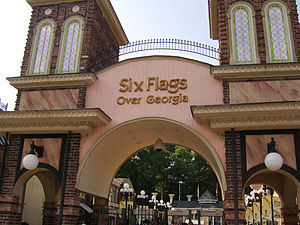 Six Flags Over Georgia - Image: Sfog