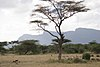 Mountains in Shaba National Reserve, Kenya