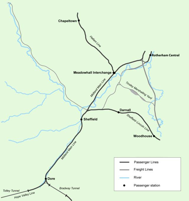 Transport in Sheffield - Wikiwand
