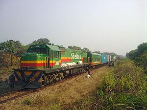Rail transport in the Democratic Republic of the Congo - Image: Sheltam 33 200