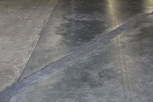 Shibboleth (artwork) - The Turbine Hall floor after Shibboleth had been filled in