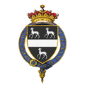 Shield of arms of John Lambton, 3rd Earl of Durham, KG, GCVO, PC.png