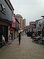 Shopping street in Huangzhou, Huanggang, Hubei, China.jpg