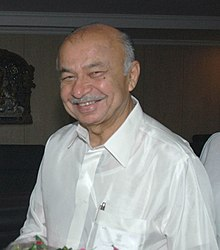Shri Sushilkumar Shinde, in New Delhi on August 06, 2009 (cropped).jpg