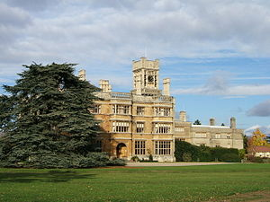 The Mansion House, Old Warden Park - The Mansion House, Old Warden Park, now part of Shuttleworth College
