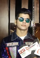 Siddharth Nigam giving interview at Avneet Kaur birthday party.png